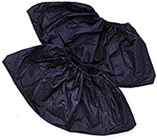 Bonanic réutilisables à chaussures Covers-waterproof-wearproof-dustproof-mudproof durable, épais Material-one Taille Compatible avec tous les modèles jusqu'à XL, Noir (10paires)