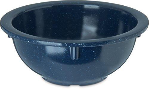 Carlisle 4352235 Dallas Ware Melamine Rim Nappie Bowl, 14 oz. Capacity, 5.53 x 2.28