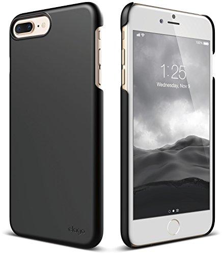 elago iPhone 8 Plus/iPhone 7 Plus Case [Slim Fit 2][Black] - [Light][Minimalistic][True Fit]