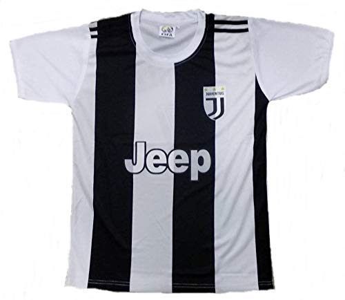 a67c0eb5de3 Roots4creation Juventus Football Jersey 2018 with Ronaldo Printed at Back   Amazon.in  Clothing   Accessories
