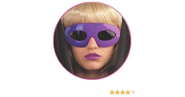 Lady Gaga Disfraz Accesorio Gafas Gafas de sol en color morado ...
