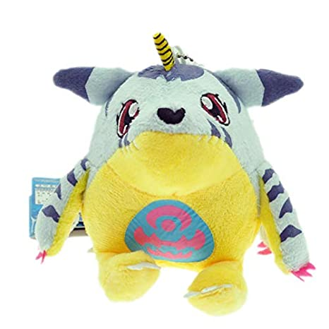 xuritaotao Digimon Pokemongo Gabumon Peluche 10 cm Digimon ...
