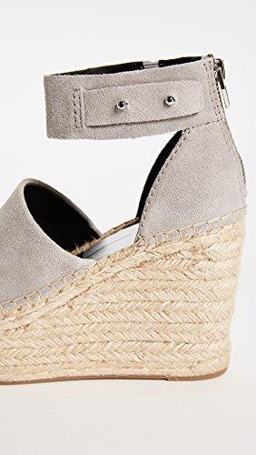 Vita Wedge Smoke Women's Sandal Suede Dolce Straw d4PndO