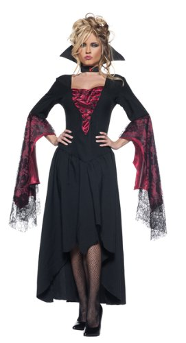 Women's Sexy Vampire Queen Costume - The (Countess Dracula Costume)