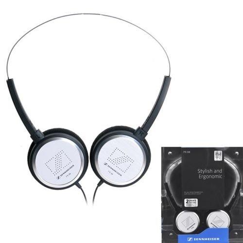 Sennheiser Px88 White Lightweight Headphones Styli...