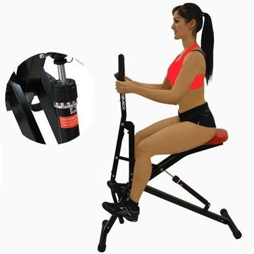 TOTAL CRUNCH Full Ab Body Fitness Horse Riding with Monitor and 12 Hydraulic Resistance by Total Crunch TM (Image #4)