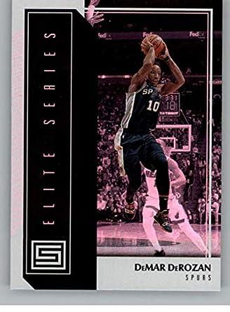 ea99d823c09 2018-19 Panini Status Elite Series #18 DeMar DeRozan San Antonio Spurs NBA  Basketball