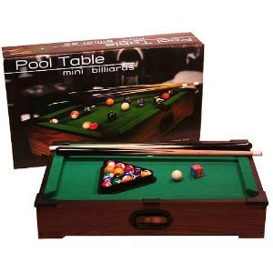 Tabletop Pool Table Goes Anywhere by Westminster