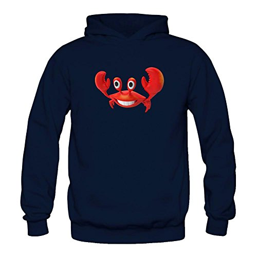xieling-womens-funny-red-crab-design-sweatshirts-hoodie