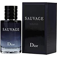 Christian Dior Sauvage for Men Eau de Toilette Spray New, 2 Fluid Ounce
