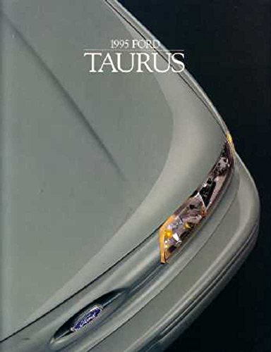 - 1995 Ford Taurus Sales Brochure Literature Book Piece Dealer Advertisement