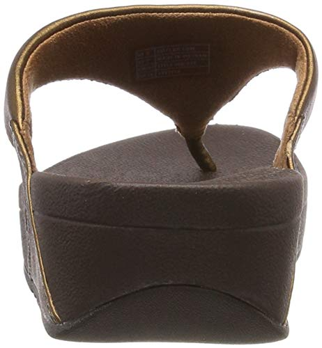 Toepost Lulu Mujer Fitflop Negro Leather 001 Chanclas black Para nvxdWEdgFH