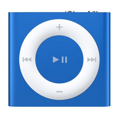 Apple iPod Shuffle 2GB Blue (4th Generation, 2015 Model) MKME2LL/A (Certified Refurbished)