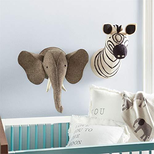 Mud Pie Baby Nursery Wall Mounts (Zebra)