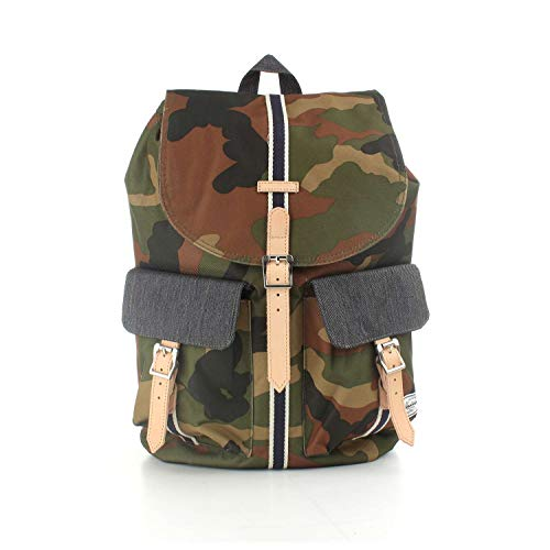 Peacoat Camo X Dawson Denim Tan Synthetic Woodland Dark Small Herschel Leather wHtqFfw