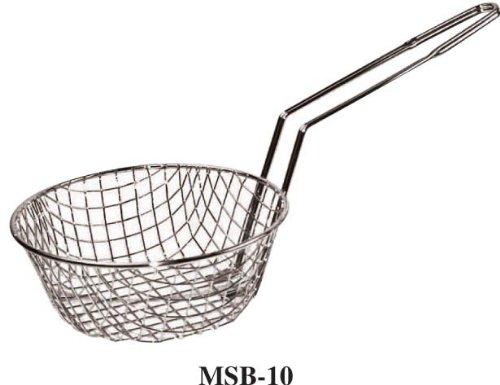 (Winco Culinary Basket, 10-Inch Diameter, Coarse Mesh)