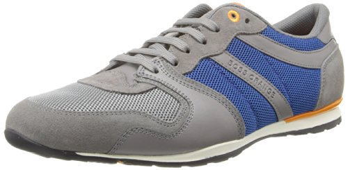 Hugo Boss Heren Orlisten Fashion Sneaker Medium Grijs