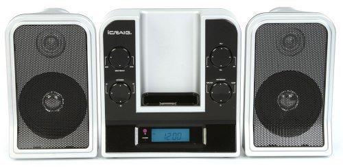 Craig Electronics CMB3216 iCRAIG Micro System with Digital PLL FM Stereo Radio by Craig Electronics