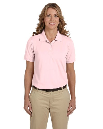 Ladies' Easy Blend Polo, Blush, XL