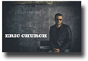 eric church poster 11 x 17 promo for the mr misunderstood album camera photo. Black Bedroom Furniture Sets. Home Design Ideas