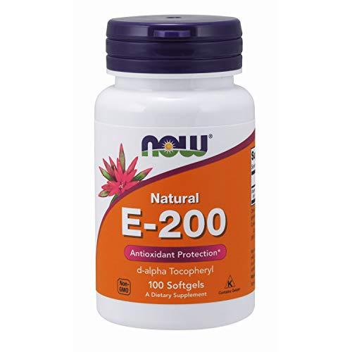 NOW E-200 d-alpha 100 Softgels