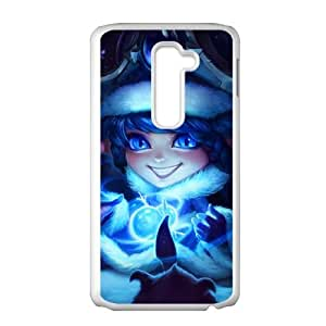 LG G2 Cell Phone Case White League of Legends Winter Wonder Lulu SH3002699