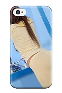 Ideal Iphone Case Cover For Iphone 4/4s Girl In Mirror Photography Protective Stylish Case