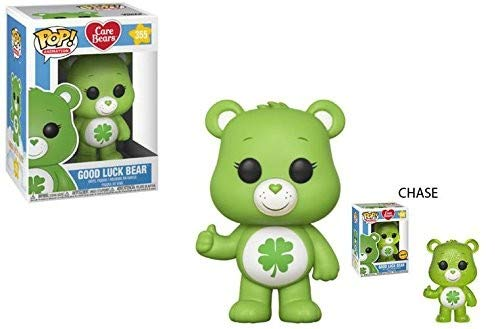 Funko POP! Animation: Care Bears Good Luck Bear (Styles May Vary) Collectible Figure, Multicolor]()