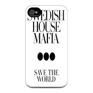 Nueva Swedish House Mafia3 carcasa infrangible para iphone 4/4S