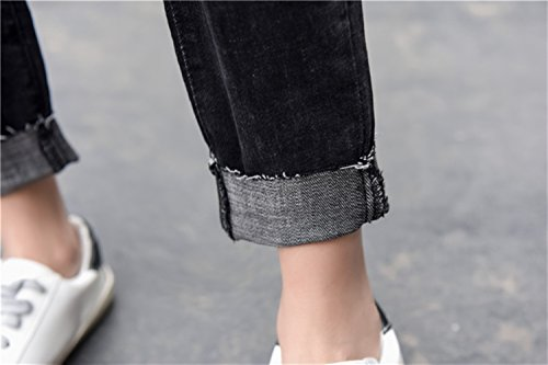 Icegrey Icegrey Nero Jeans Nero Jeans Donna Icegrey Donna Jeans Donna Nero wRTSq0nB