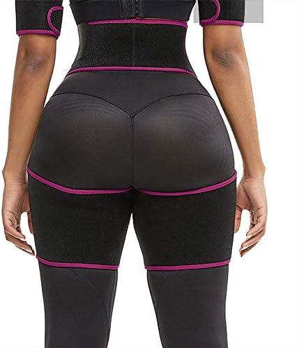 Waist and Thigh Trimmer for Women Weight Loss Sweat Band Waist Trainer Butt Lifter Neoprene Hip Shapewear Enhancer 3
