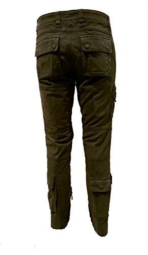Pa939ct anti chaqueta verde Militare Pants Men's g Aeronautica oscuro polo StBvxqpcw
