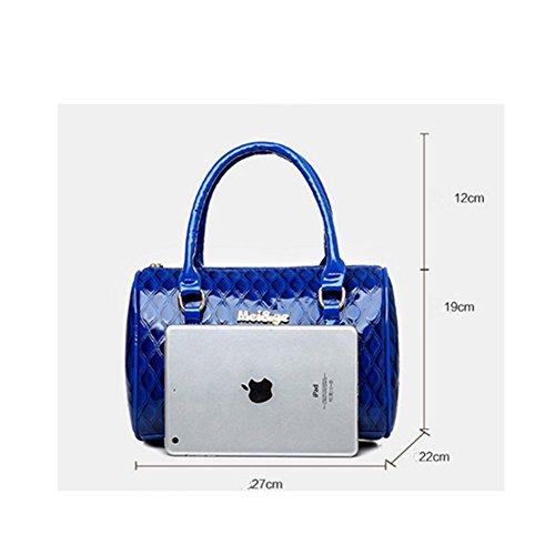 6PCS de cuero Hobo PU bolsa Xagoo de mensajero de la vendimia con la correa de hombro y pequeño bolso de mano (Estilo 1) Estilo 2