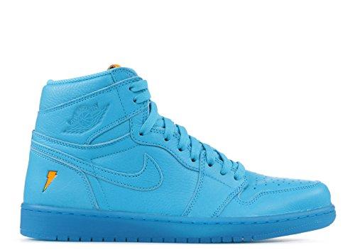 Nike Air Jordan 1 I Høy Gatorade Blå Lagune Aj5997-455 Oss Størrelse 8