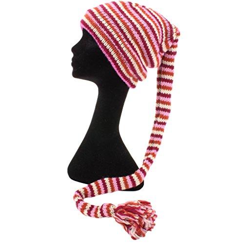 Pink Loud punto para Hats Cream Gorro hombre de Rayas Rust ZCfnqxZg