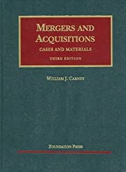 Mergers and Acquisitions (University Casebook Series)