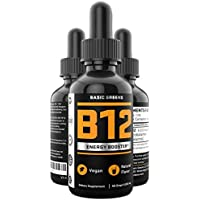 Basic Greens Vitamin B12 Liquid Sublingual Drops