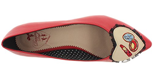 Dancing Days Women's Ballet Flats Red - RED ZcG0X9F831