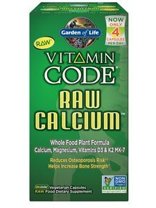 Vitamin Code Raw Calcium - Garden of Life - 120 - VegCap