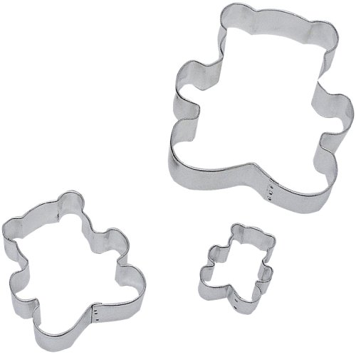 teddy bear cookie cutters shapes - 7