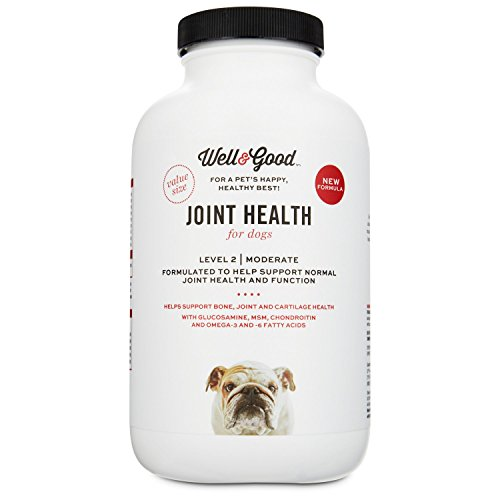 Well & Good Joint Support II Dog Tablets, 120 Count, 120 CT
