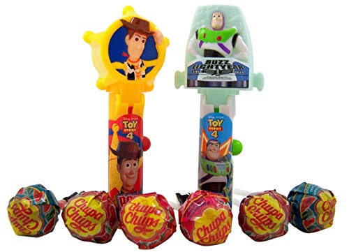 Disney Pixar Toy Story 4 Pop Ups Lollipops Party Favors, Pack of 6