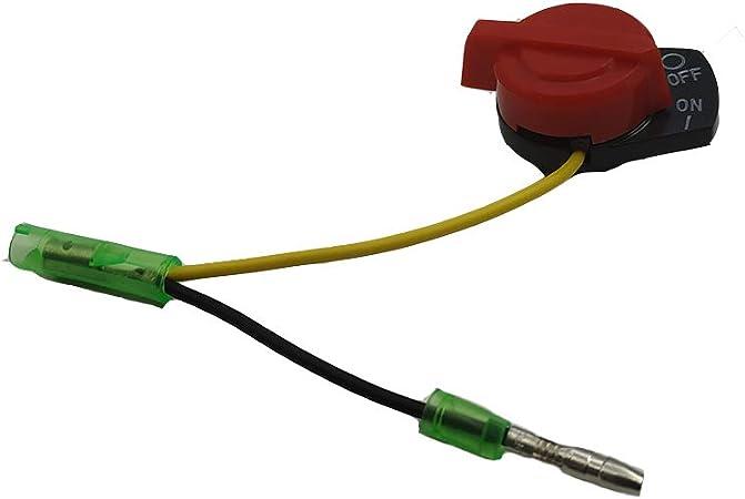 Amazon.com: Interruptor de encendido apagado Motor Stop Fits ...