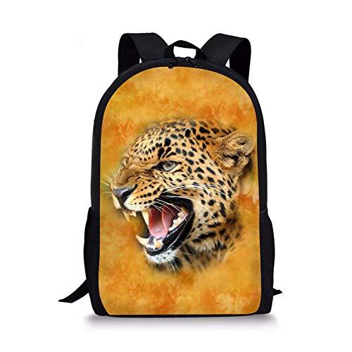476e3eb2deb4 Kids School Backpack Vivid Animal Design Plain Bookbag Travel Daypack