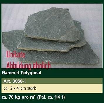 Ca Tonnen Flammet Polygonal Steinplatten Ca Cm Stark - Steinplatten 2 cm stark