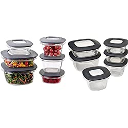 Rubbermaid Premier 22-piece Food Saver Storage Container Set with Easy Find Lids