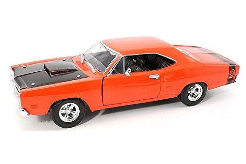 [NEW 1:24 DISPLAY MOTOR MAX AMERICAN CLASSICS - ORANGE 1969 DODGE CORONET SUPER BEE Diecast Model Car By Motor Max] (1969 Dodge Coronet Super Bee)