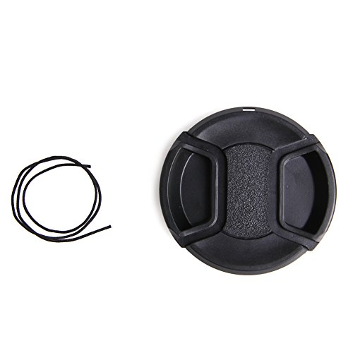 Stebcece Front Lens Cap Cover Snap-on 58mm for Sony Nikon Olympus Pentax Panasoni (Fits 58mm Lens)