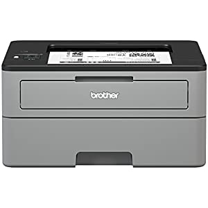 Brother Compact Monochrome Laser Printer, HL-L2350DW, Wireless Printing, Duplex Two-Sided Printing, Amazon Dash Replenishment Enabled