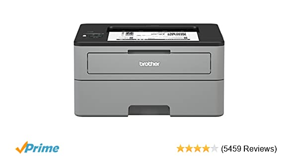 Amazon Brother Compact Monochrome Laser Printer HL L2350DW Wireless Printing Duplex Two Sided Dash Replenishment Enabled Office